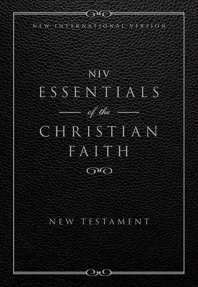 Essentials of the Christian Faith, New Testament