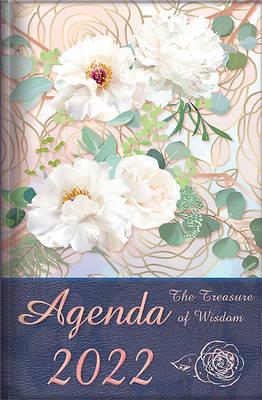 Picture of The Treasure of Wisdom - 2022 Daily Agenda - Peonies