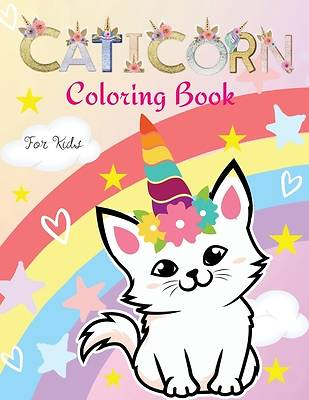 Picture of - Caticorn Coloring Book for Kids