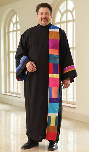 Mens Mosaic Robe