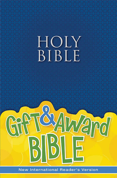 NIRV Gift and Award Bible Blue - Case of 12