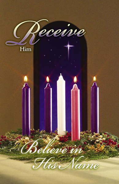Advent Week 4/Receive Bulletin, Regular (Package of 100)