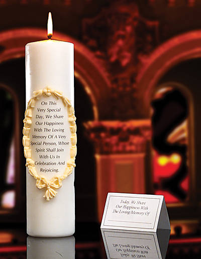 Picture of Remembrance/Memorial Candle