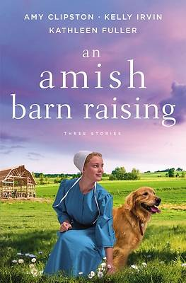 Picture of An Amish Barn Raising