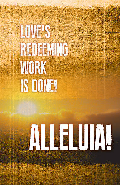 Picture of Alleluia! Easter Images Bulletin (Pkg of 50)