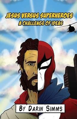 Picture of Jesus Versus Superheroes