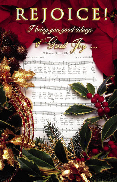 Christmas Music Bulletin Regular (Package of 100)