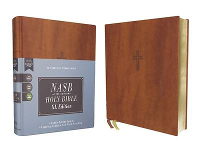 Picture of Nasb, Holy Bible, XL Edition, Leathersoft, Brown, 1995 Text, Comfort Print