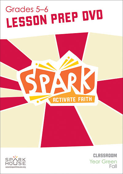 Picture of Spark Classroom Grades 5-6 Preparation DVD Year Green Fall