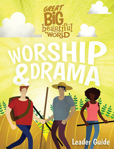 Picture of Vacation Bible School (VBS 2020) Great Big Beautiful World Worship & Drama Guide
