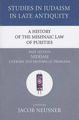 Picture of A History of the Mishnaic Law of Purities, Part Sixteen