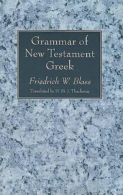 Picture of Grammar of New Testament Greek