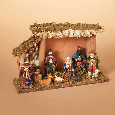 Picture of Nativity Scene with Stable