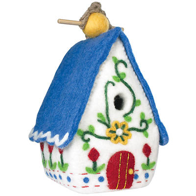 Picture of Birdhouse:  Heidi Chalet - Nepal - 9""