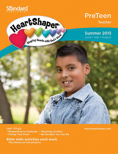 Standards HeartShaper PreTeen Teacher Book Summer 2013