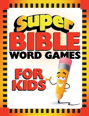 Picture of Super Bible Word Games for Kids