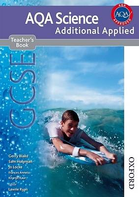 Gcse Additional Applied Science. Teacher Book