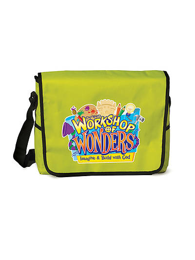 Vacation Bible School (VBS) 2014 Workshop of Wonders Leader Messenger Bag