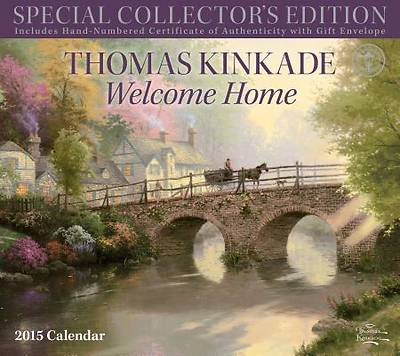 Picture of Thomas Kinkade Special Collector's Edition 2015 Deluxe Wall Calendar