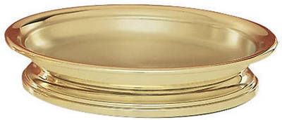 Picture of Sudbury SB1615SS High Polish Solid Brass Self Stacking Bread Plate