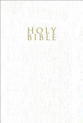 Gift & Award Bible NIV (White Leather-like)