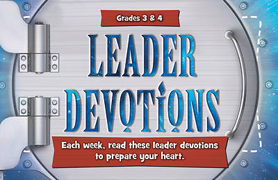 Picture of Group's Buzz Wisdom Vault Grades 3 & 4 Leader Devotions Summer 2013