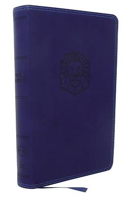 Picture of Nkjv, Holy Bible for Kids, Leathersoft, Blue, Comfort Print