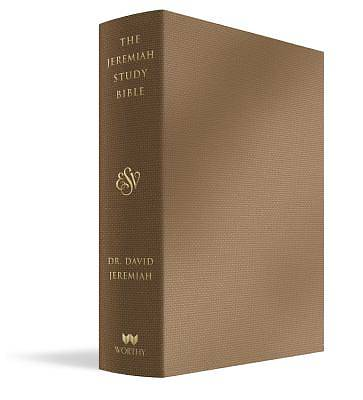 The Jeremiah Study Bible, Esv, Bronze Leatherluxe(r)