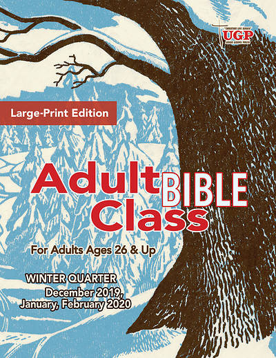 Picture of Union Gospel Adult Bible Class Student Large Print Winter 2019-2020
