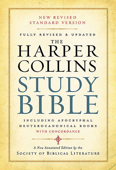 The HarperCollins Study Bible New Revised Standard Version