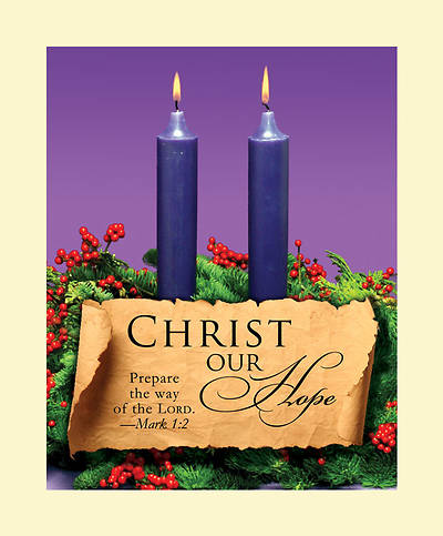 Advent Purple Sunday 2 Bulletin 2011, Large (Package of 50)