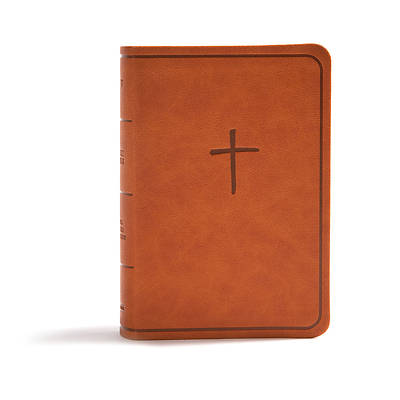 Picture of CSB On-The-Go Bible, Ginger Leathertouch