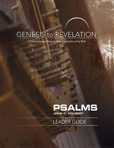 Genesis to Revelation: Psalms Leader Guide - eBook [ePub]