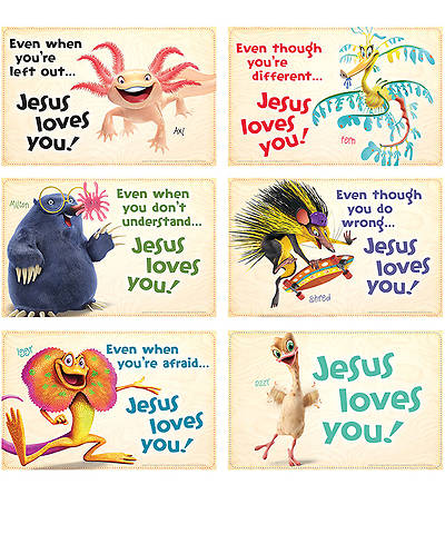 Group VBS 2014 Weird Animals Bible Point Posters Set of 6