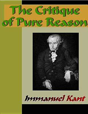 The Critique of Pure Reason [Adobe Ebook]