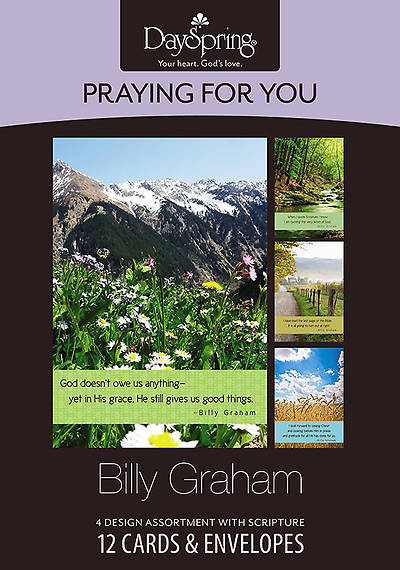 Picture of Billy Graham - Praying for You Boxed Cards - Box of 12