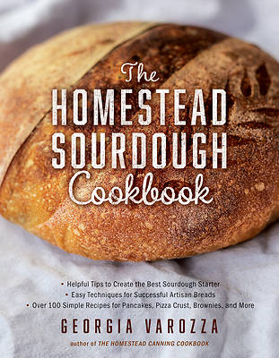 Picture of The Homestead Sourdough Cookbook