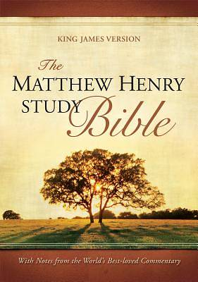 Picture of Matthew Henry Study Bible-KJV