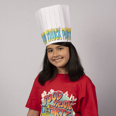 Picture of Vacation Bible School (VBS) Food Truck Party Chef's Hat (Pkg of 12)