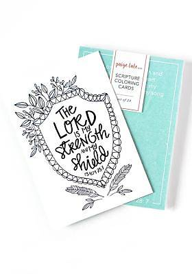 Scripture Coloring Cards