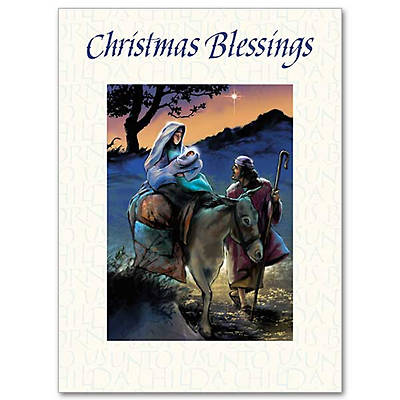 Christmas Blessing Prayers Boxed Cards