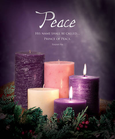 Picture of Advent Bulletin Week 2 Isaiah 9:6 Legal