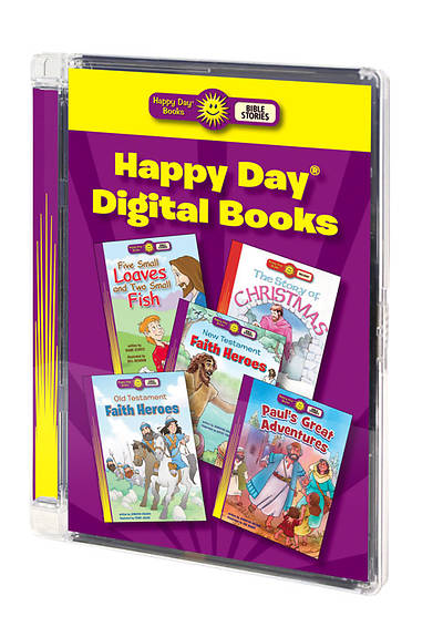 Happy Day Digital Book Bundle (CD & 5 books)