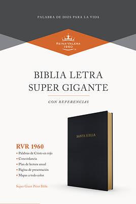 Picture of Rvr 1960 Biblia Letra Súper Gigante, Negro Imitación Piel