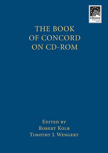 The Book of Concord on CD-ROM