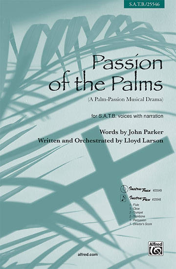 Passion of the Palms SATB Choral Book