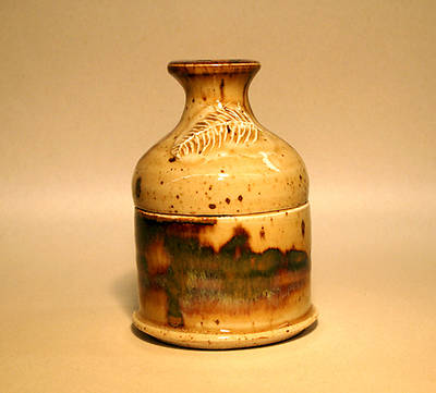 Picture of Brown Earthenware Ash Pyxis