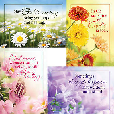Sunny Wishes - Get Well Boxed Cards - Box of 12