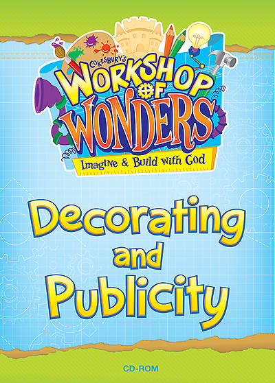 Vacation Bible School (VBS) 2014 Workshop of Wonders Decorating and Publicity CD-ROM