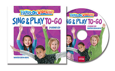 Picture of Hands On Worship Sing & Play To Go CD (5 Pack) Winter 2014-15